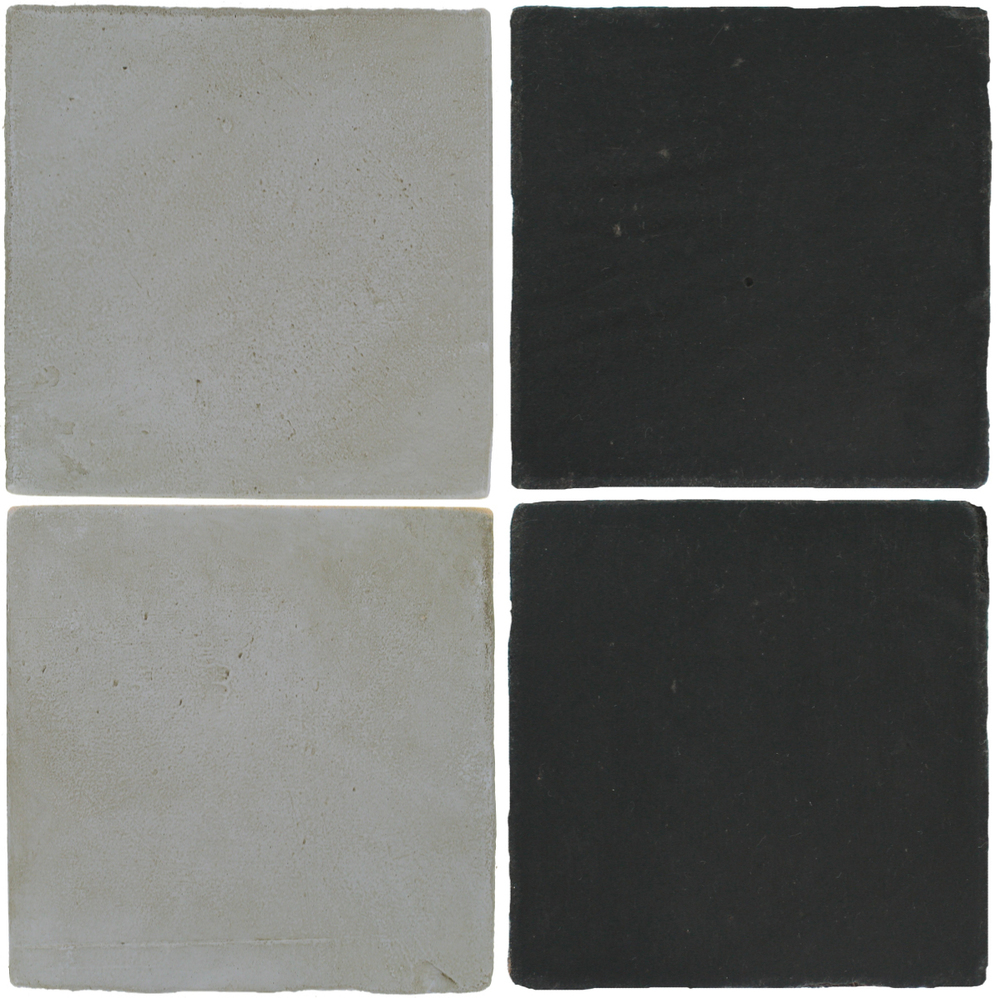 Pedralbes Antique Terracotta  2 Color Combinations  OHS-PGOG Oyster Grey + OHS-PGCB Carbon Black