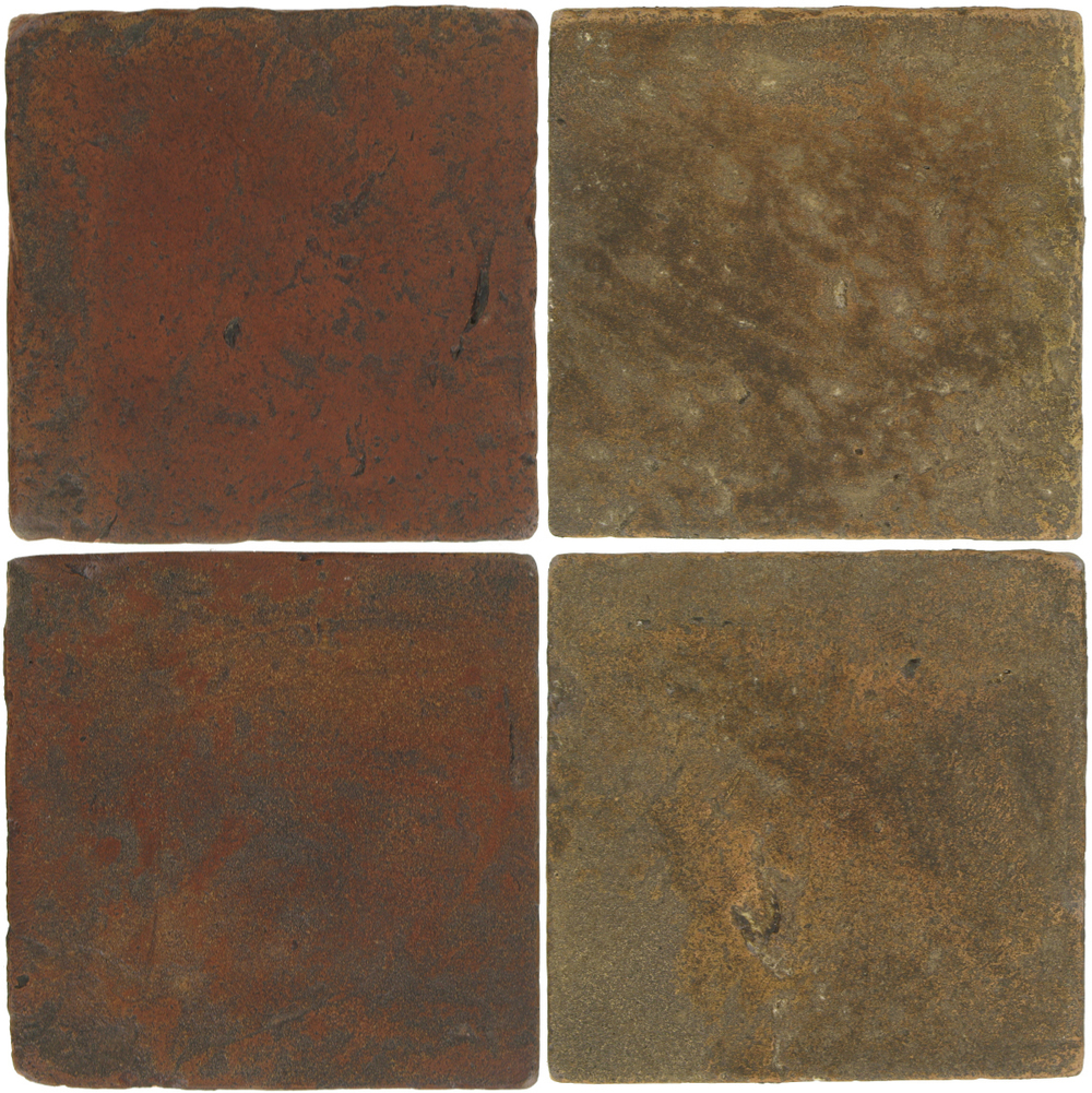 Pedralbes Antique Terracotta  2 Color Combinations  VTG-PSOW Old World + VTG-PSVN Verona Brown
