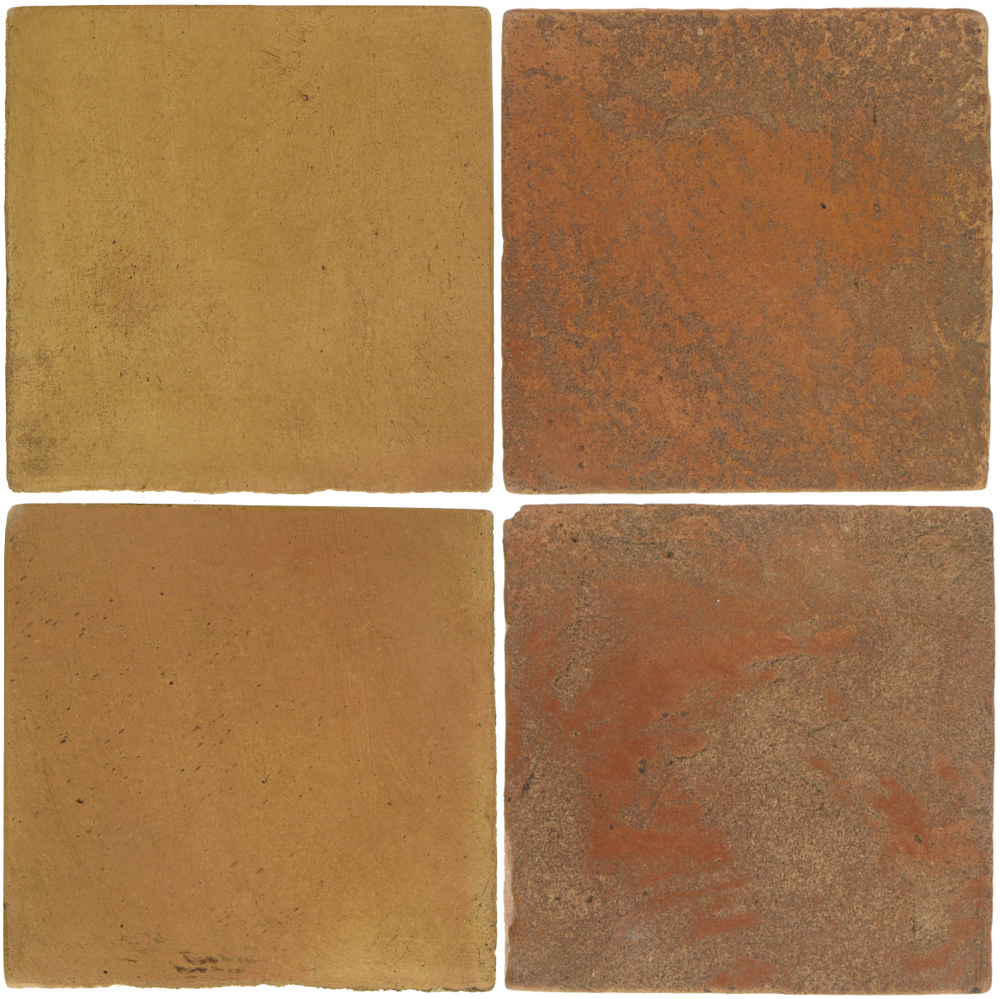 Pedralbes Antique Terracotta  2 Color Combinations  OHS-PSSW Siena Wheat + VTG-PSTR Traditional