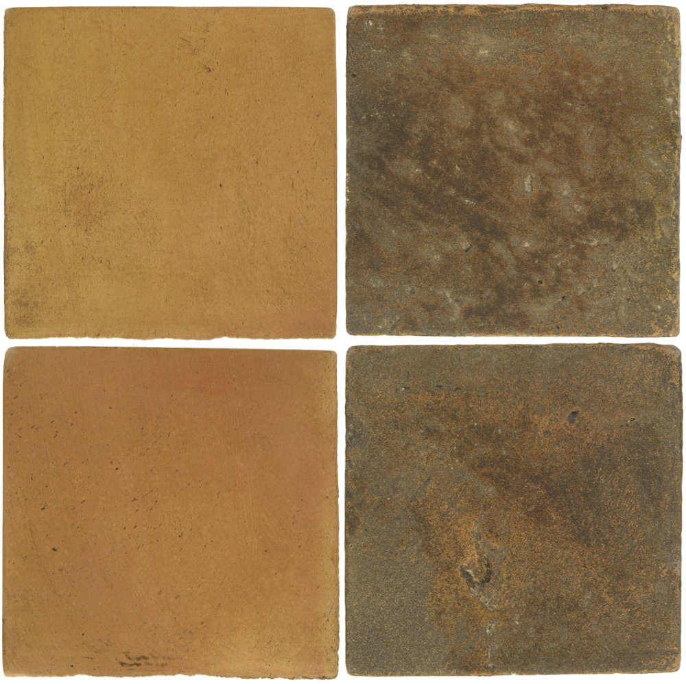 Pedralbes Antique Terracotta  2 Color Combinations  OHS-PSSW Siena Wheat + VTG-PSVN Verona Brown