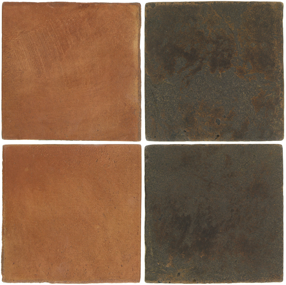 Pedralbes Antique Terracotta  2 Color Combinations  OHS-PSTR Traditional + VTG-PSCO Cologne Brown