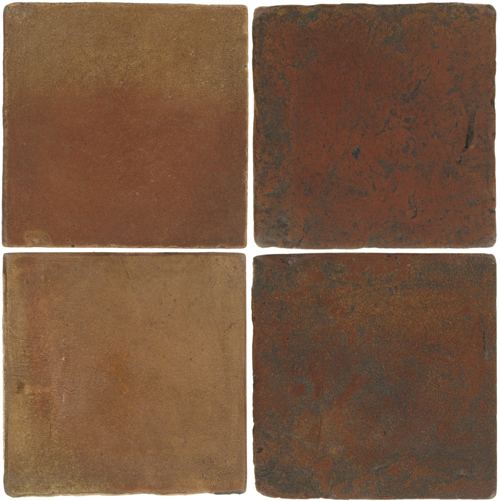 Pedralbes Antique Terracotta  2 Color Combinations  OHS-PSCM Camel Brown + VTG-PSOW Old World