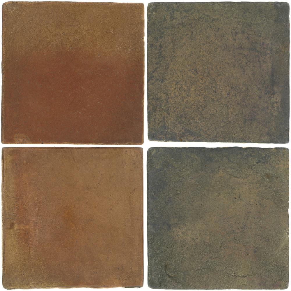 Pedralbes Antique Terracotta  2 Color Combinations  OHS-PSCM Camel Brown + VTG-PSTG Terra Grey