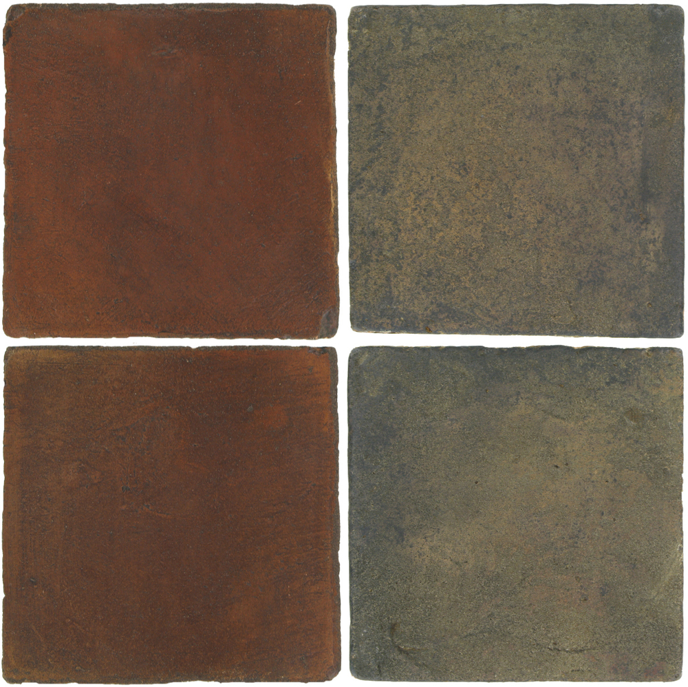 Pedralbes Antique Terracotta  2 Color Combinations  OHS-PSOW Old World + VTG-PSTG Terra Grey