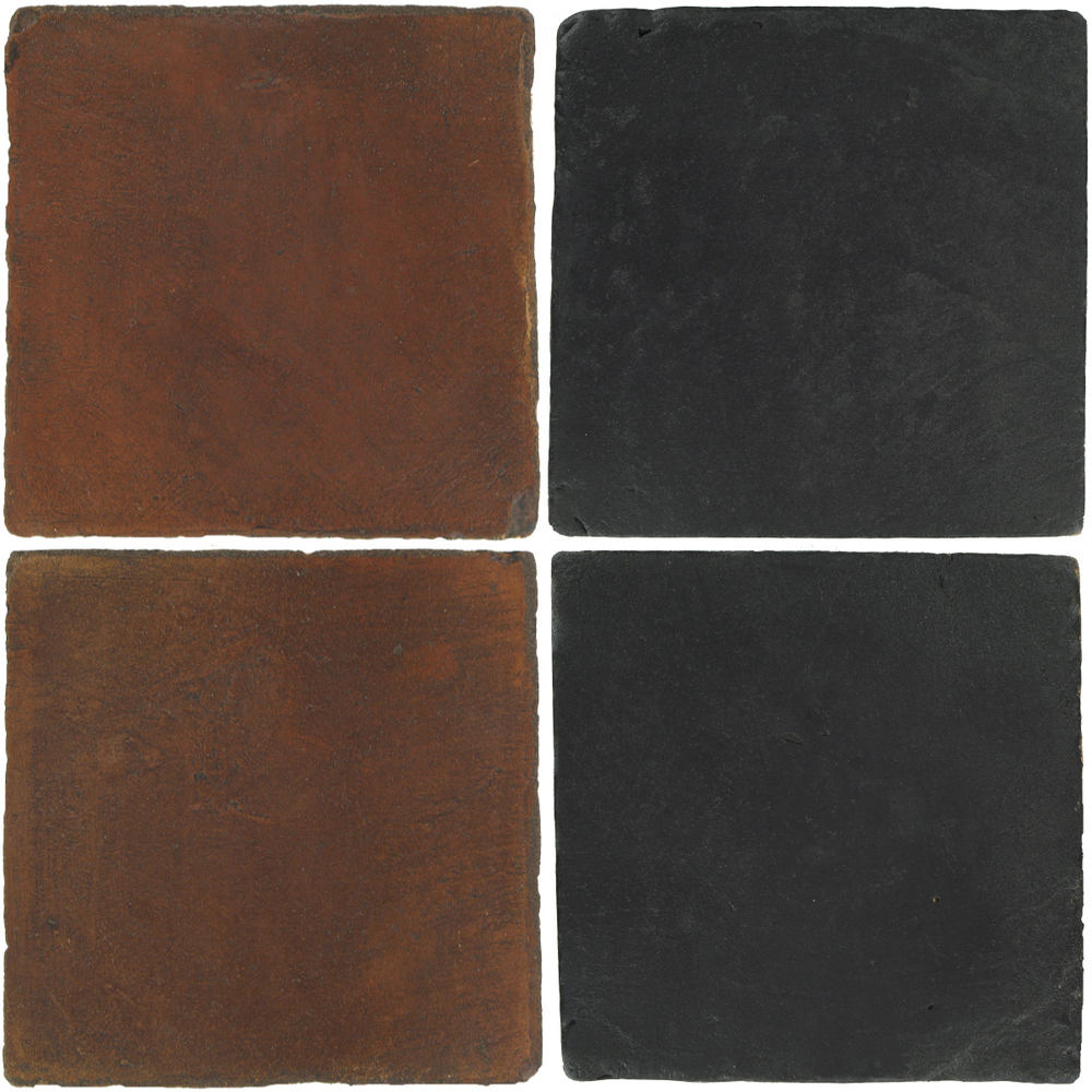 Pedralbes Antique Terracotta  2 Color Combinations  OHS-PSOW Old World + VTG-PGCB Carbon Black
