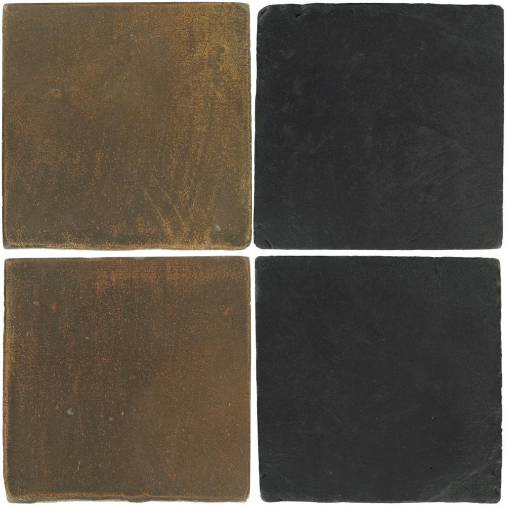 Pedralbes Antique Terracotta  2 Color Combinations  OHS-PSVN Verona Brown + VTG-PGCB Carbon Black