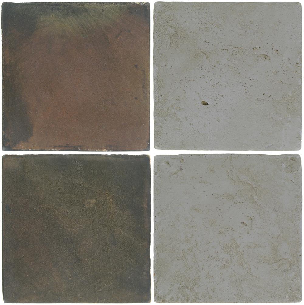 Pedralbes Antique Terracotta  2 Color Combinations  OHS-PSTG Terra Grey + VTG-PGOG Oyster Grey