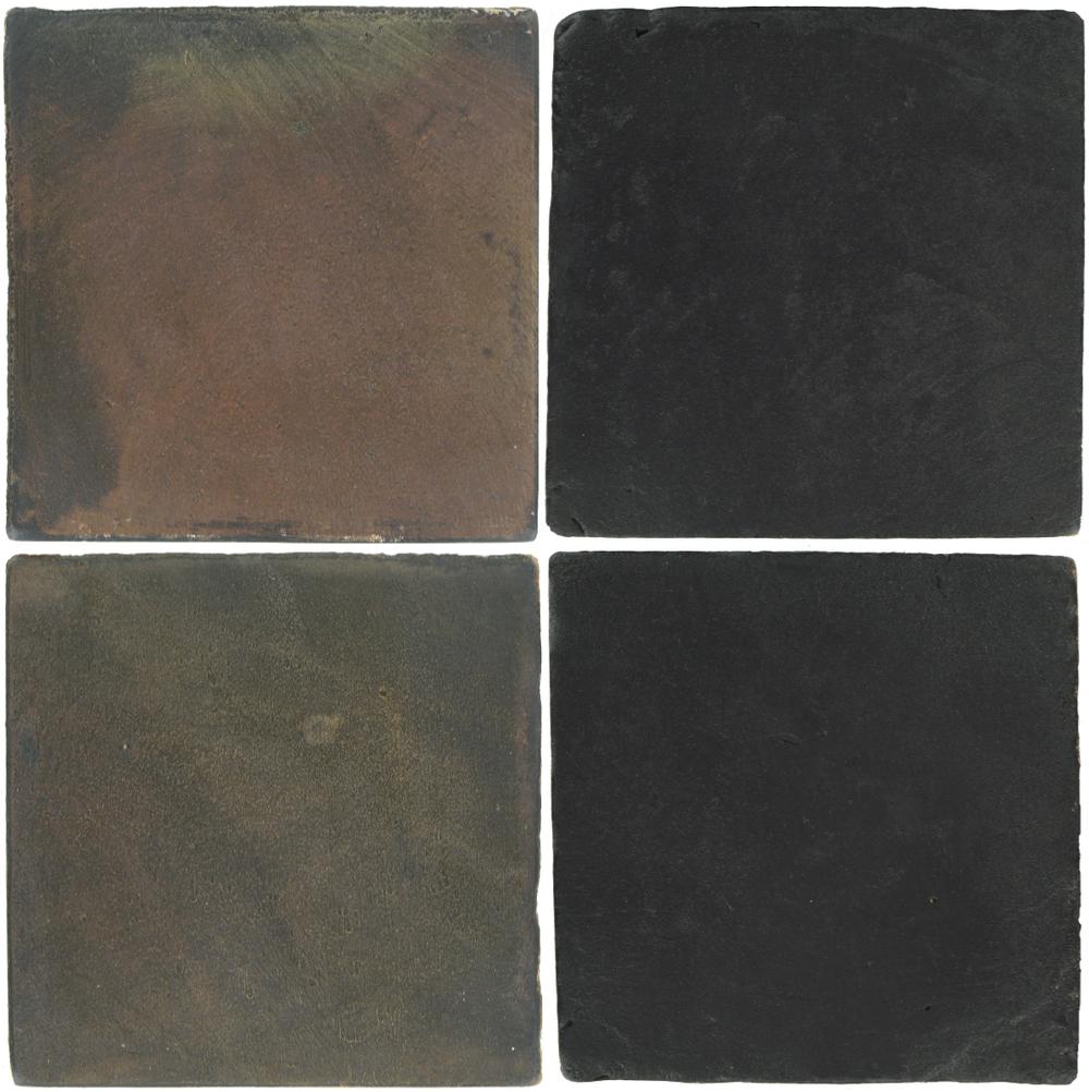 Pedralbes Antique Terracotta  2 Color Combinations  OHS-PSTG Terra Grey + VTG-PGCB Carbon Black