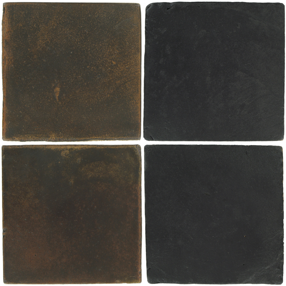 Pedralbes Antique Terracotta  2 Color Combinations  OHS-PSCO Cologne Brown + VTG-PGCB Carbon Black