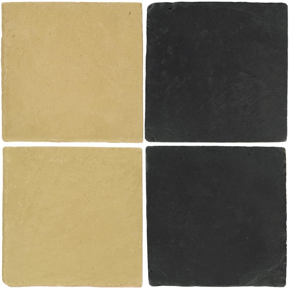 Pedralbes Antique Terracotta  2 Color Combinations  OHS-PGGW Golden W.+ VTG-PGCB Carbon Black
