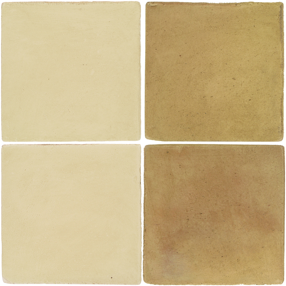 Pedralbes Antique Terracotta  2 Color Combinations  OHS-PGPW Pergamino White + OHS-PSPS Provence Straw