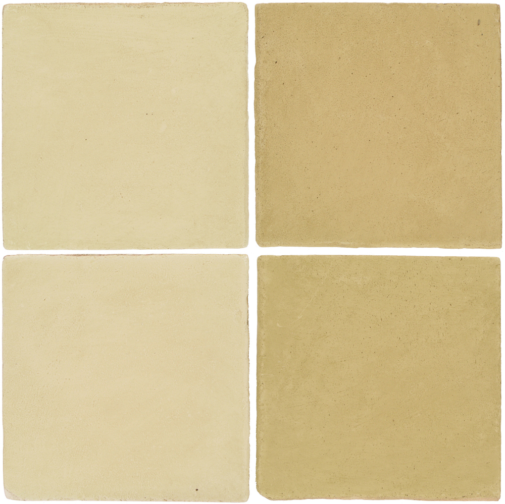 Pedralbes Antique Terracotta  2 Color Combinations  OHS-PGPW Pergamino White + OHS-PGGW Golden W.