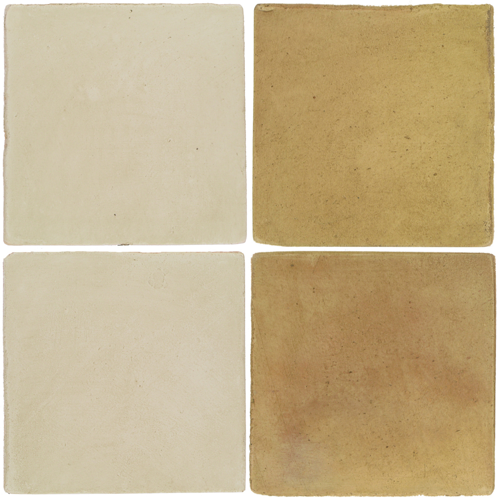 Pedralbes Antique Terracotta  2 Color Combinations  OHS-PGLW Glacier White + OHS-PSPS Provence Straw
