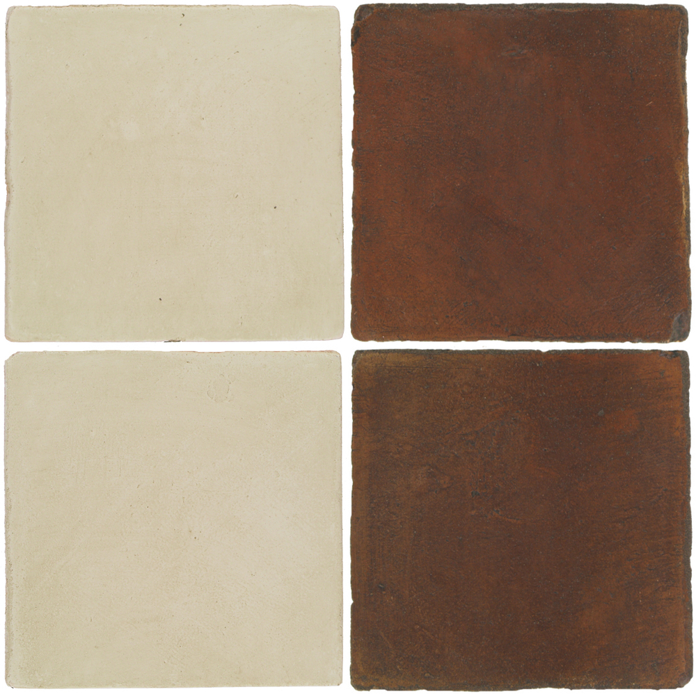 Pedralbes Antique Terracotta  2 Color Combinations  OHS-PGLW Glacier White + OHS-PSOW Old World