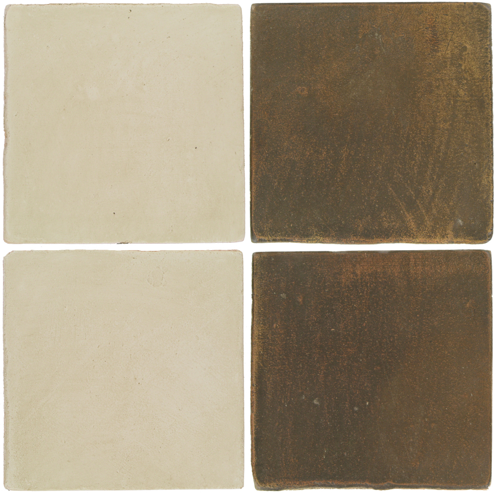 Pedralbes Antique Terracotta  2 Color Combinations  OHS-PGLW Glacier White + OHS-PSVN Verona Brown