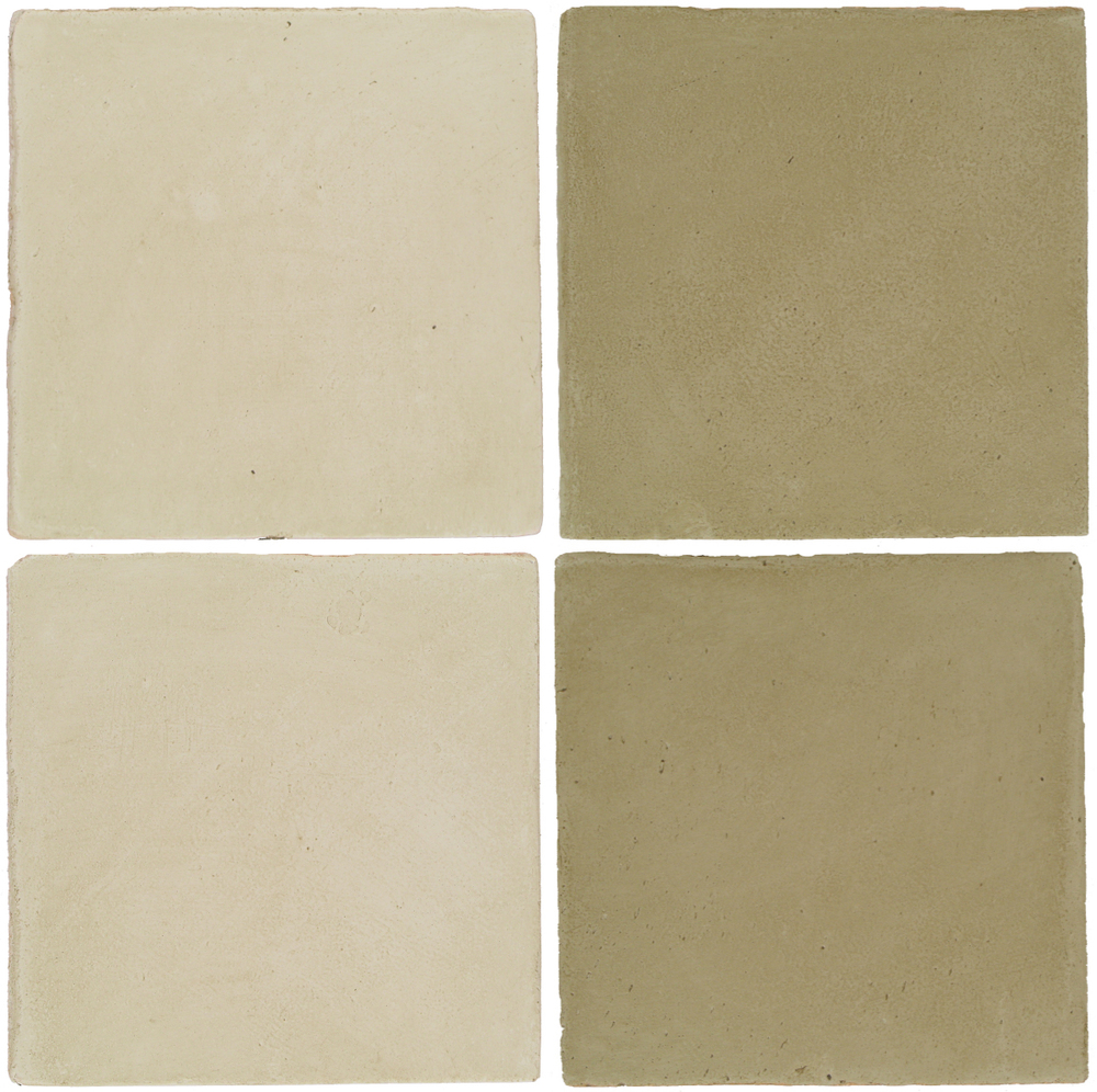 Pedralbes Antique Terracotta  2 Color Combinations  OHS-PGLW Glacier White + OHS-PGDW Dirty W.