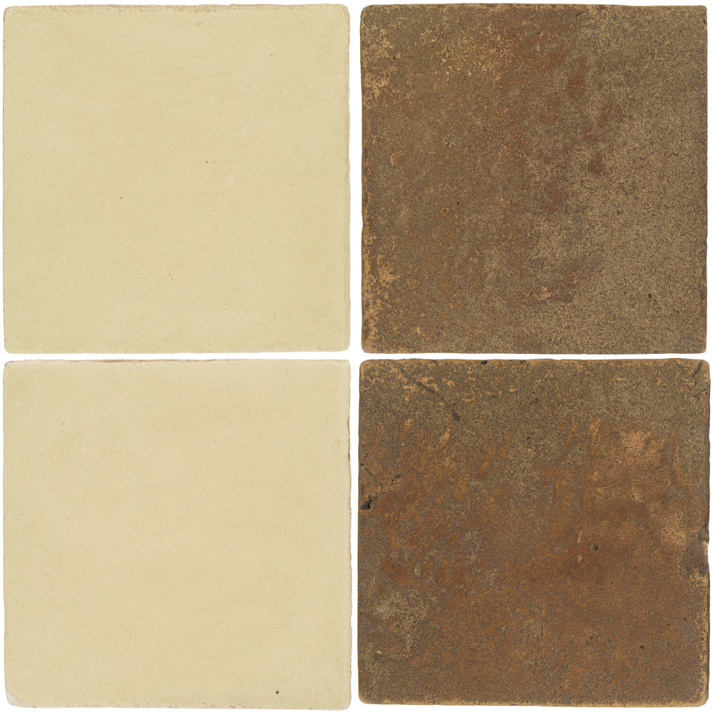 Pedralbes Antique Terracotta  2 Color Combinations  OHS-PGPW Pergamino White + VTG-PSCM Camel Brown