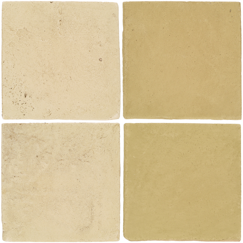 Pedralbes Antique Terracotta  2 Color Combinations  VTG-PGPW Pergamino White + OHS-PGGW Golden W.