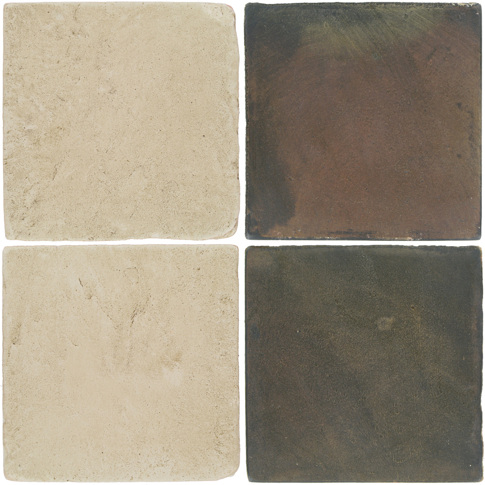 Pedralbes Antique Terracotta  2 Color Combinations  VTG-PGLW Glacier White + OHS-PSTG Terra Grey