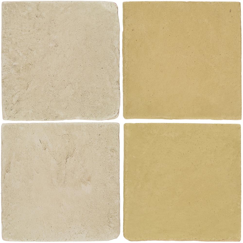 Pedralbes Antique Terracotta  2 Color Combinations  VTG-PGLW Glacier White + OHS-PGGW Golden W.