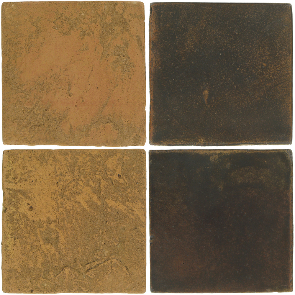 Pedralbes Antique Terracotta  2 Color Combinations  VTG-PSSW Siena Wheat + OHS-PSCO Cologne Brown