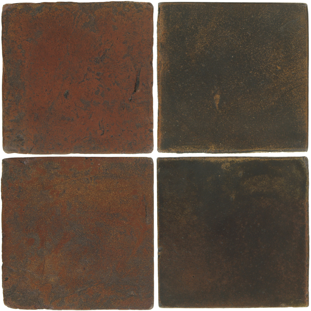 Pedralbes Antique Terracotta  2 Color Combinations  VTG-PSOW Old World + OHS-PSCO Cologne Brown