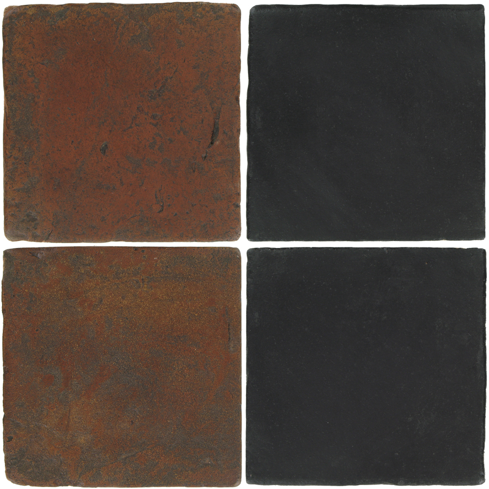 Pedralbes Antique Terracotta  2 Color Combinations  VTG-PSOW Old World + OHS-PGCB Carbon Black