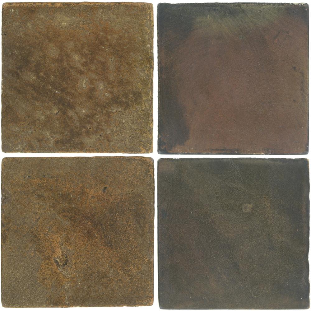 Pedralbes Antique Terracotta  2 Color Combinations  VTG-PSVN Verona Brown + OHS-PSTG Terra Grey
