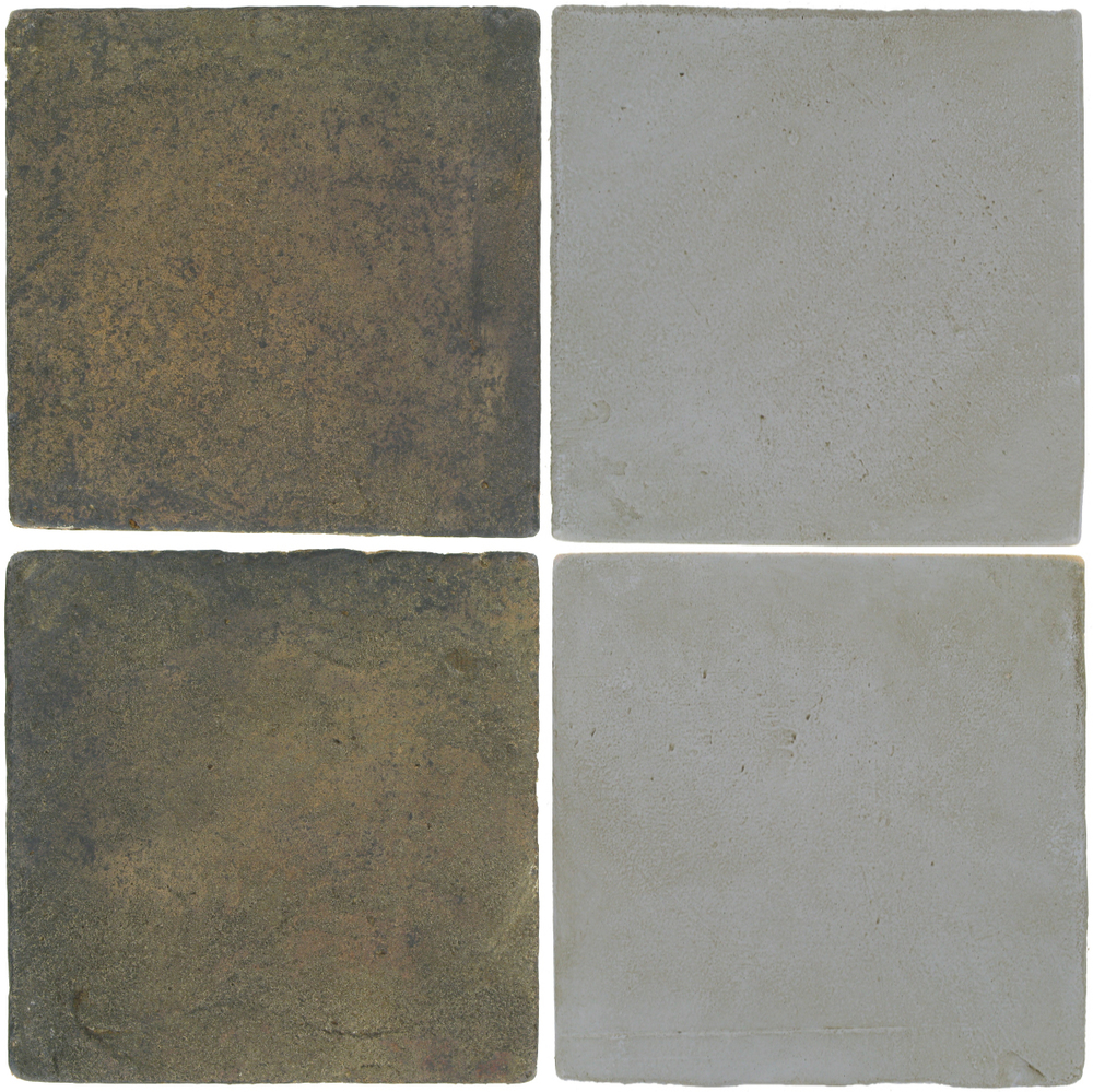 Pedralbes Antique Terracotta  2 Color Combinations  VTG-PSTG Terra Grey + OHS-PGOG Oyster Grey