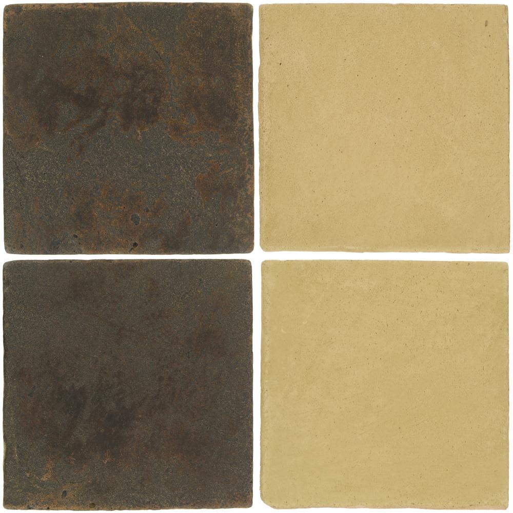 Pedralbes Antique Terracotta  2 Color Combinations  VTG-PSCO Cologne Brown + OHS-PGGW Golden W.