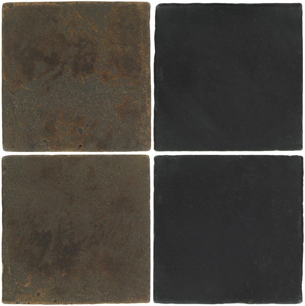 Pedralbes Antique Terracotta  2 Color Combinations  VTG-PSCO Cologne Brown + OHS-PGCB Carbon Black