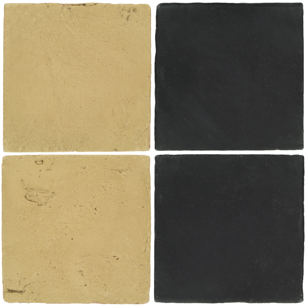 Pedralbes Antique Terracotta  2 Color Combinations  VTG-PGGW Golden W.+ OHS-PGCB Carbon Black