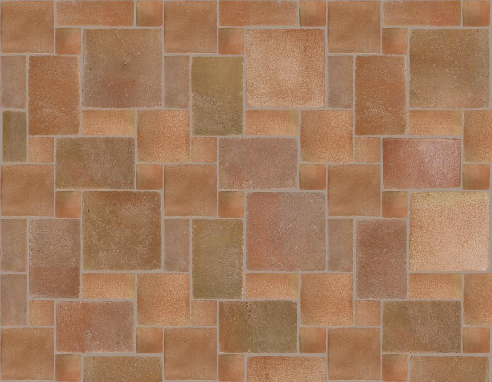 Natural terracotta floor tiles po 1 texture color ticsa for Parquet flooring colours
