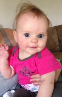 My first grandchild Averie Mae