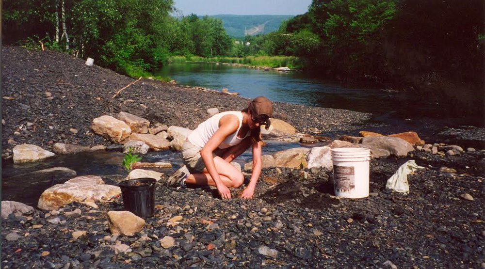 As a teenager, I worked on reclaiming mine sites—from developing the tree planting plan to actually doing the planting. Photo:  @homesteadbrooklyn