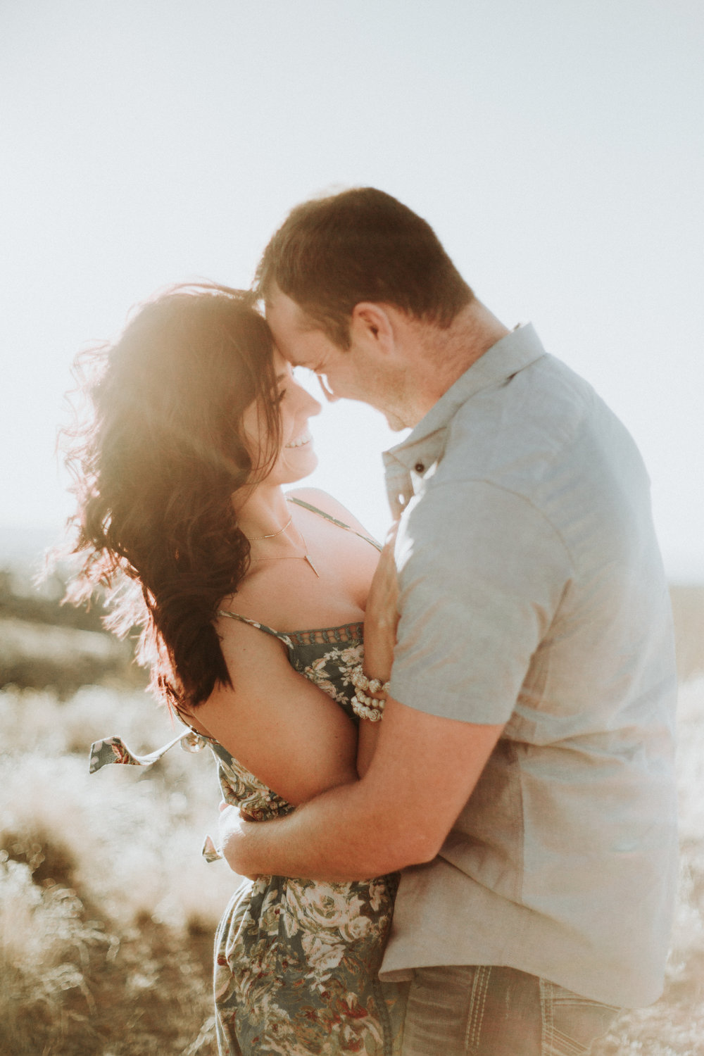Rebecca + Tate - New Mexico Engagement session
