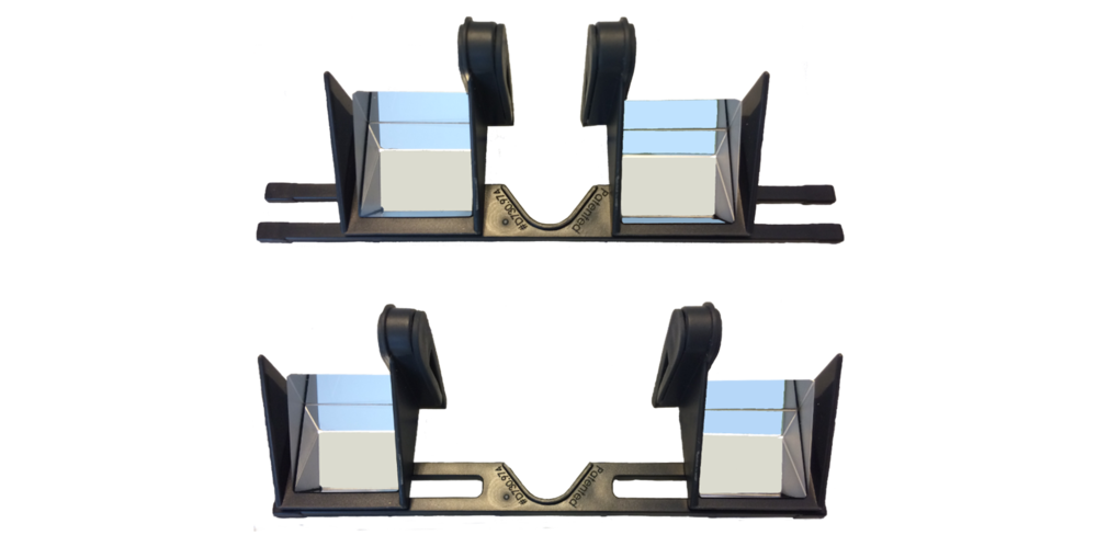 Adjustable width - for less eye strain