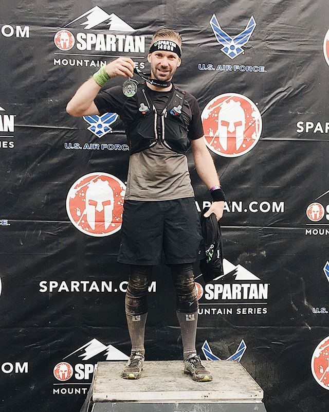 Last Saturday I finished one of the toughest #Spartan races I've ever faced. The #breckenridge #beast in Colorado! So glad to have my wife @toladesign by my side to encourage me.  At the beginning of June I sprained my left ankle on both sides and I it's bothered me ever since. I wasn't sure how it would hold up over 13+ miles and 35 obstacles. Especially when the race started at 9600ft and peaked around 14,000ft. It's hard to breathe way up there!  Long story short, the Beast I ran in Tahoe last year took me 6hrs and by God's grace and lots of prayer on the trail I shattered my expectations and REALLY surprised myself finishing the course in 3hrs. 😳 It was epic! I averaged a 14min mile which I've never done in a race like this before!  I placed 30th in my age group and 65th overall!  More pics to come! And one more race this year to complete the #trifecta  #spartanbreckenridge #spartanrace #adventure #adventurer