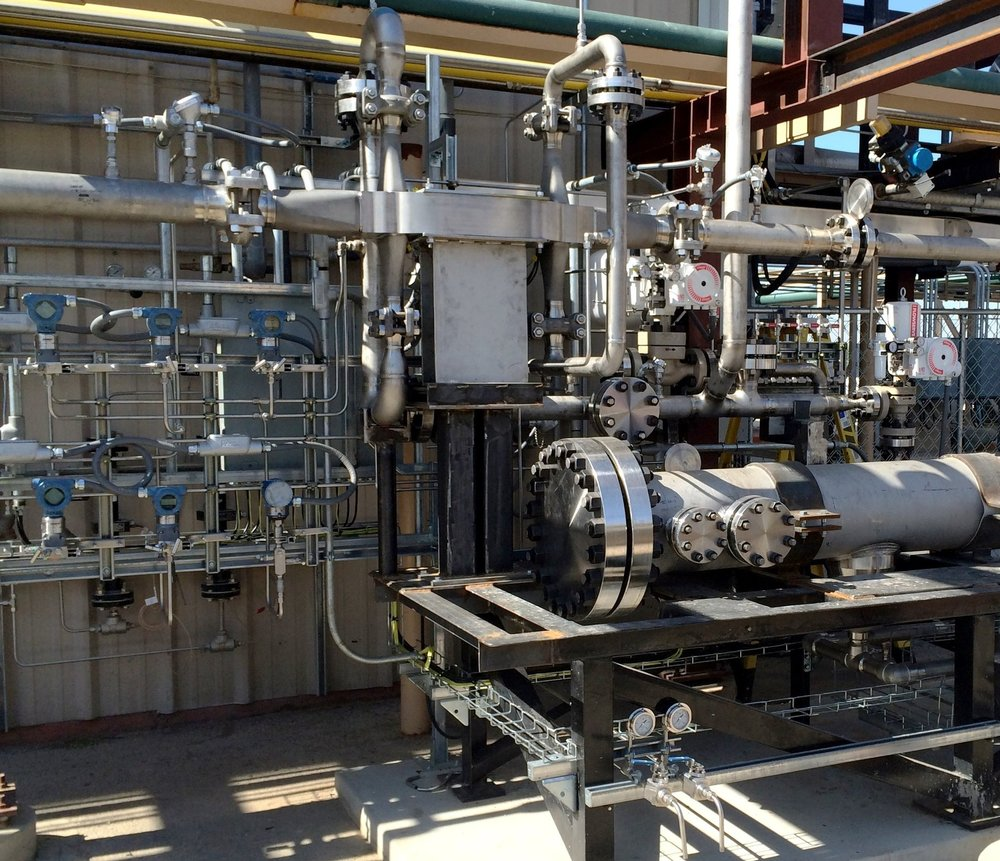 HEXCES Compact Platelet Heat Exchanger Installed at The Kimberlina Test FAcility