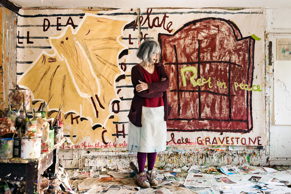 Rose Wylie for Royal Academy Magazine