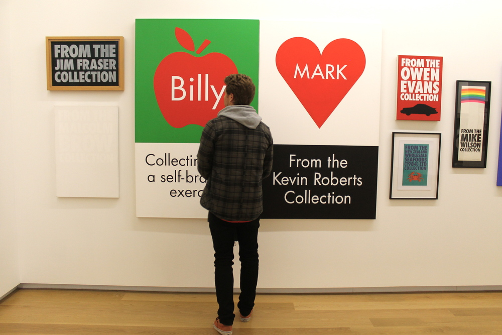 Billy Apple  exhibit at the Auckland Art Gallery.