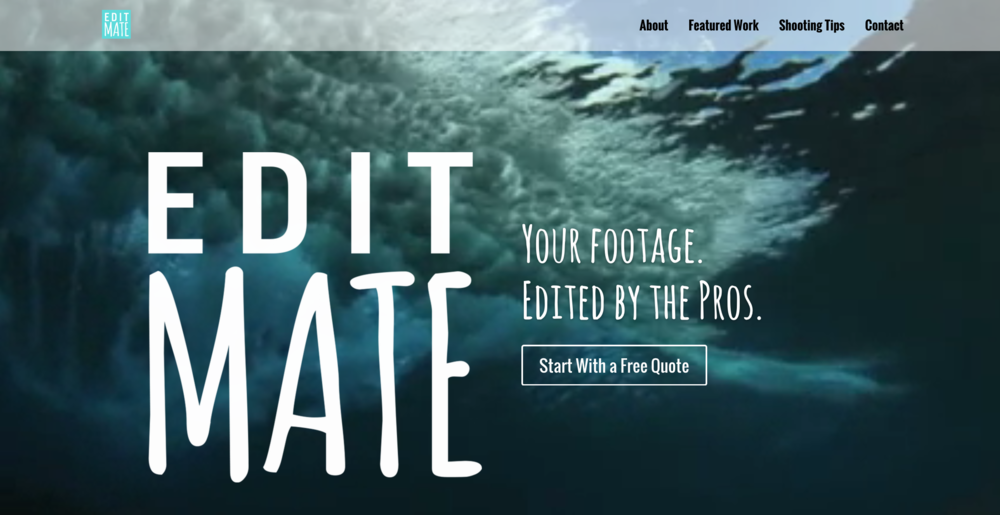 EditMate-website