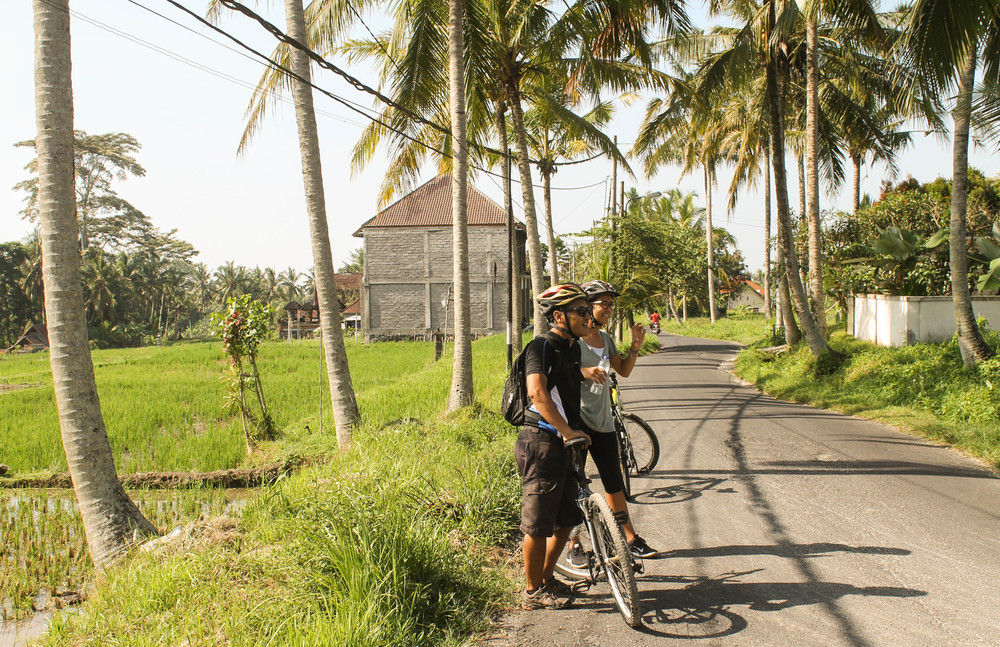 Ubud-biking
