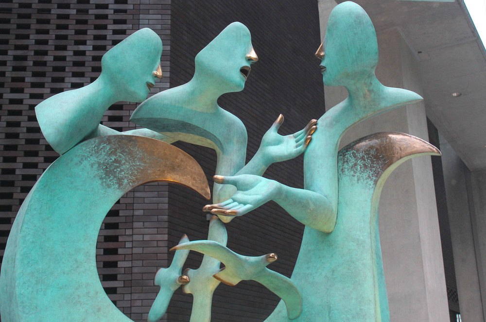 Singapore-statue
