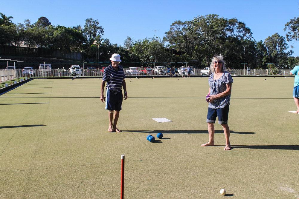 Australian bowls.