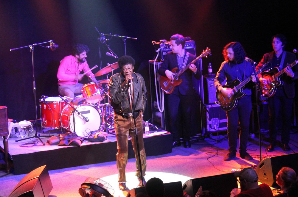 Charles Bradley in Cambridge.