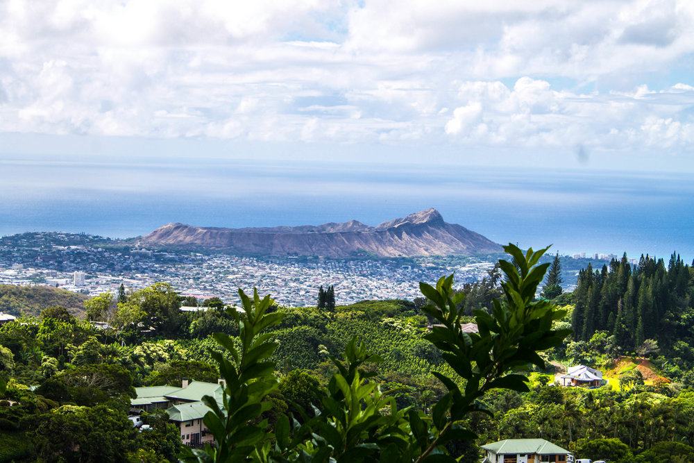 Diamond Head Crater.