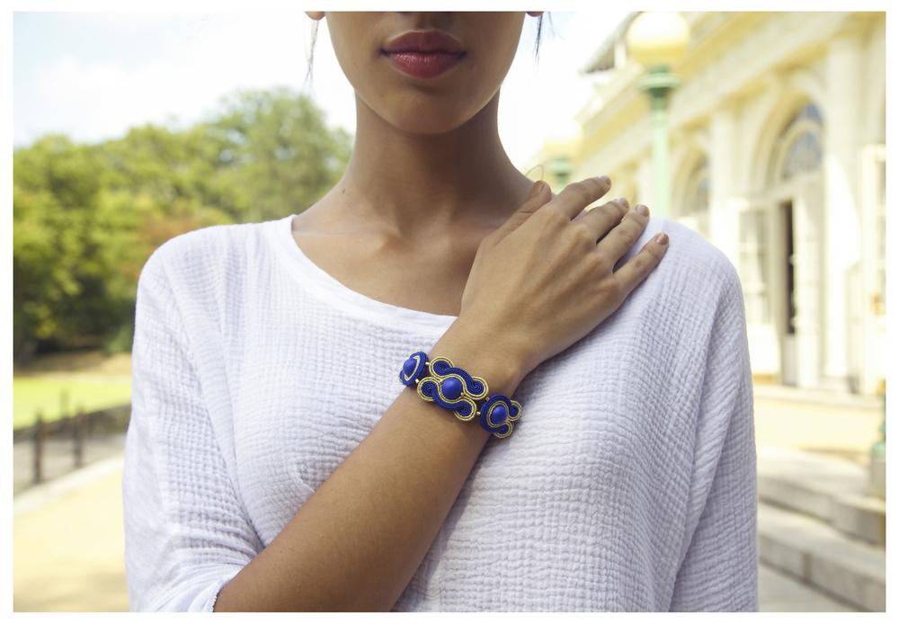 Plume's Soutache Bracelet