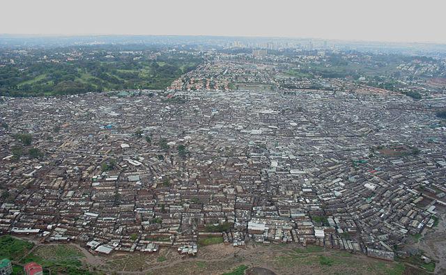 Kibera, Kenya. http://en.wikipedia.org/wiki/Kibera#/media/File:Nairobi_Kibera_04.JPG