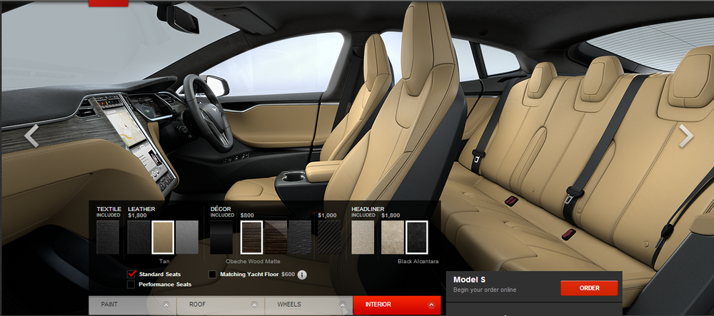 New textures for internal options and new headliner options